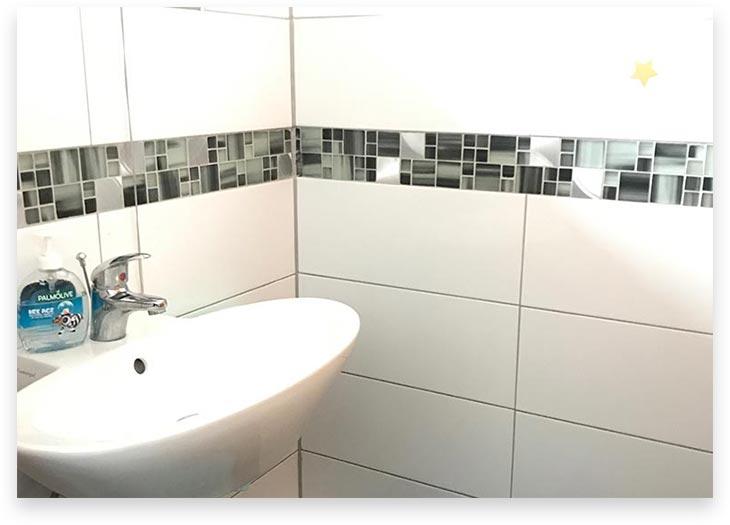 5Stars Kindertagespflege Lübeck Innenaufnahme Badezimmer UG