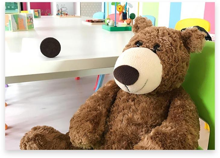 5Stars Kindertagespflege Tagesmutter Lübeck Innenaufnahme Kuschelteddy