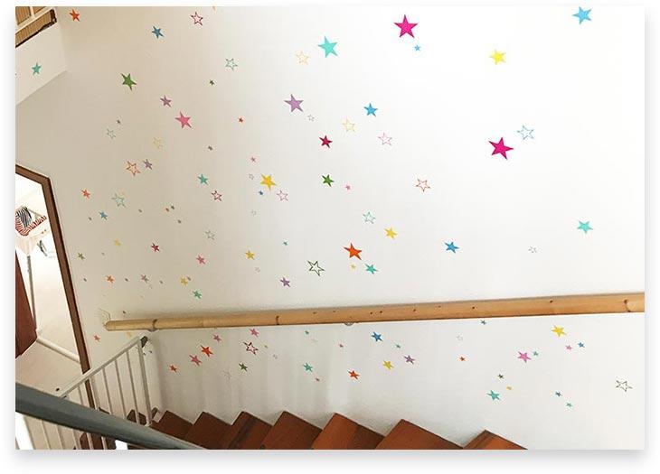 5Stars Kindertagespflege Tagesmutter Lübeck Innenansicht Treppenaufgang