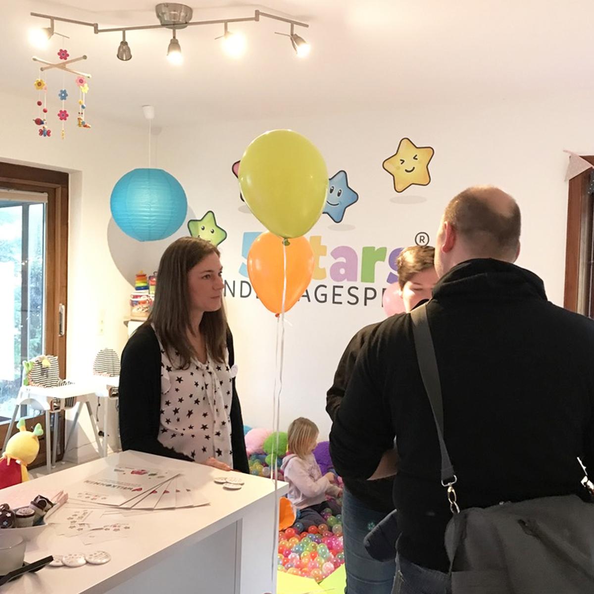 5Stars Kindertagespflege Tagesmutter Lübeck Impressionen vom Tag der offenen Tür 2017