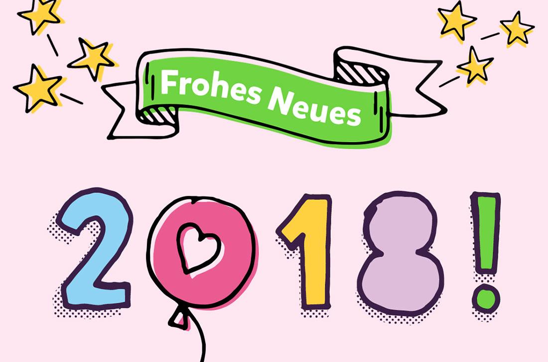 5Stars Kindertagespflege Tagesmutter Lübeck wünscht ein frohes neues Jahr 2018