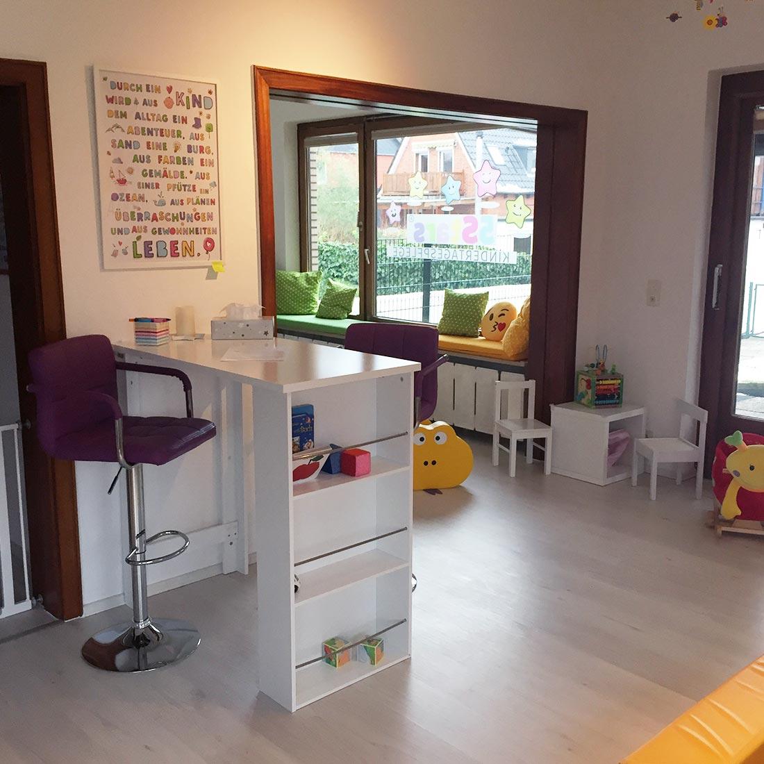 5Stars Kindertagespflege Tagesmutter Lübeck Innenaufnahme Wohnzimmer