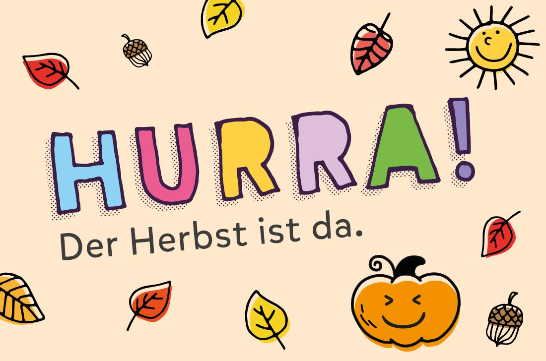 5Stars Kindertagespflege Tagesmutter Lübeck Hurra! Der Herbst ist da!