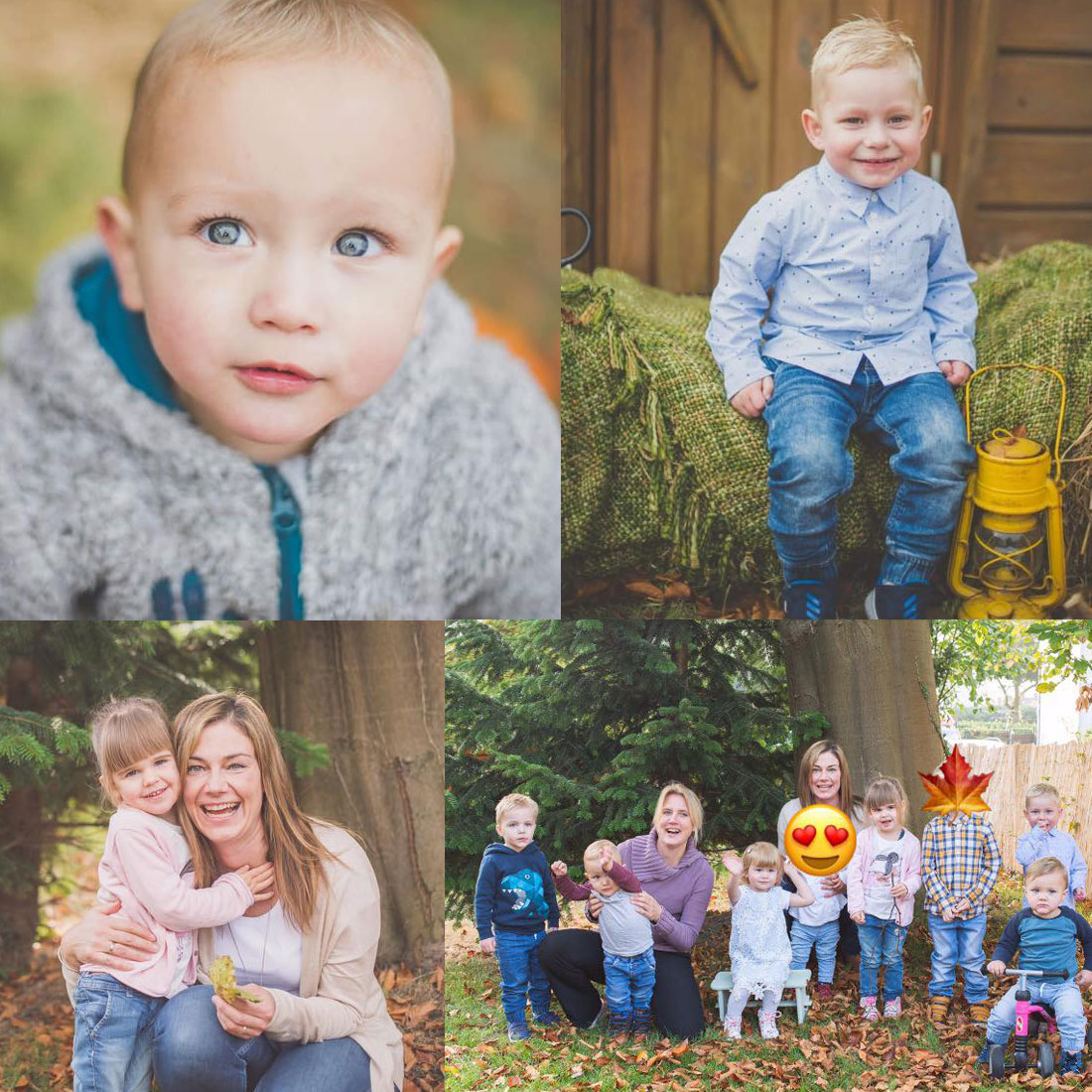 5Stars Kindertagespflege Tagesmutter Lübeck Herbst Fotoshooting 2018