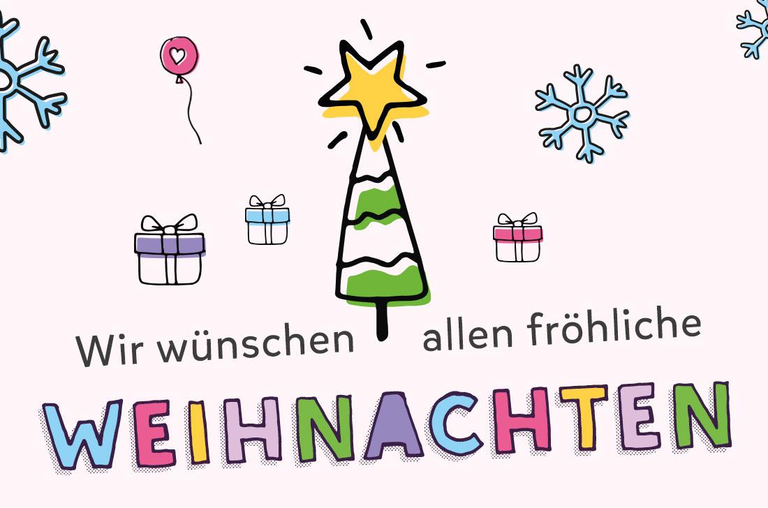 5Stars Kindertagespflege Tagesmutter Lübeck wünscht frohe Weihnachten