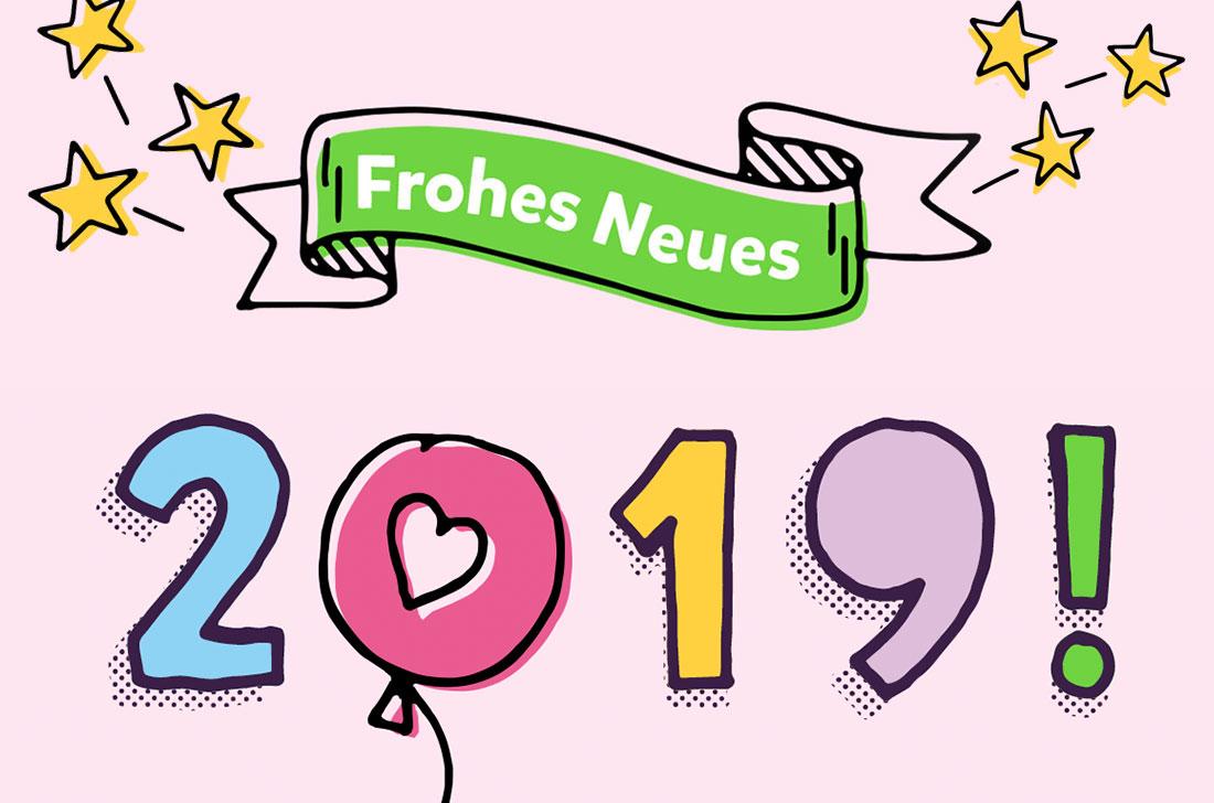 5Stars Kindertagespflege Tagesmutter Lübeck wünscht ein frohes neues Jahr 2019
