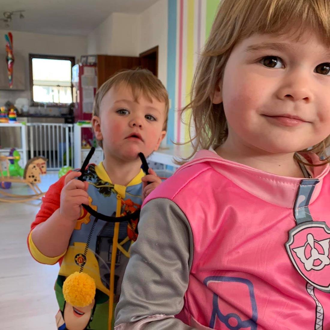 5Stars Kindertagespflege Tagesmutter Lübeck Faschingsparty 2019