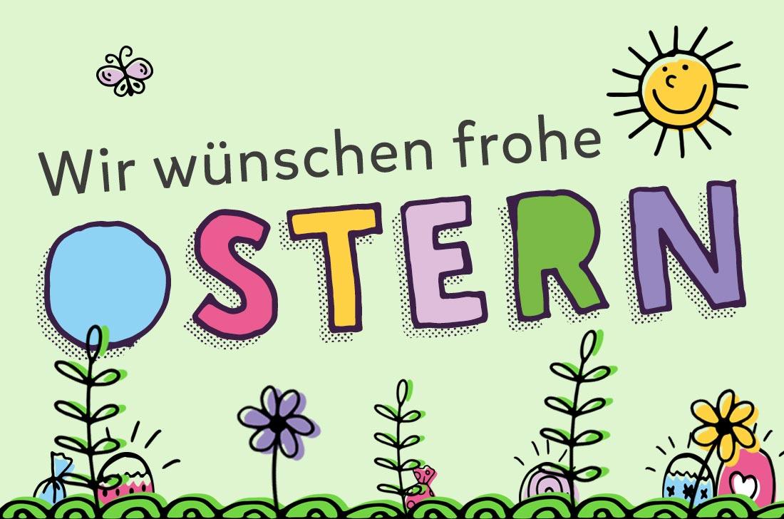 5Stars Kindertagespflege Tagesmutter Lübeck wünscht frohe Ostern