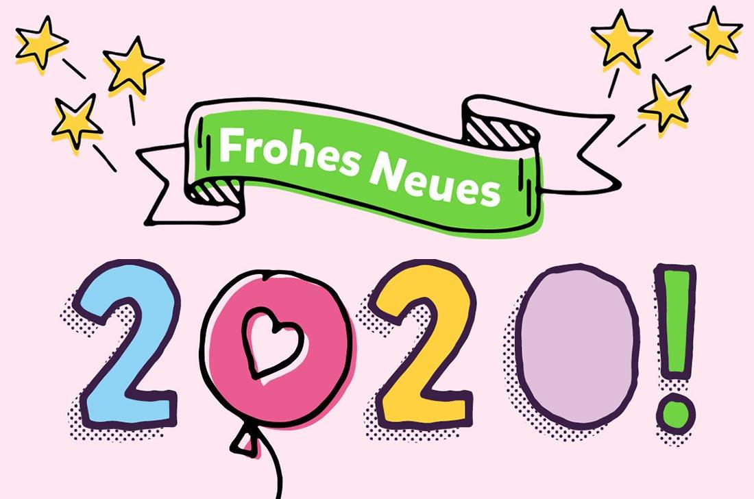 5Stars Kindertagespflege Tagesmutter Lübeck wünscht ein frohes neues Jahr 2020